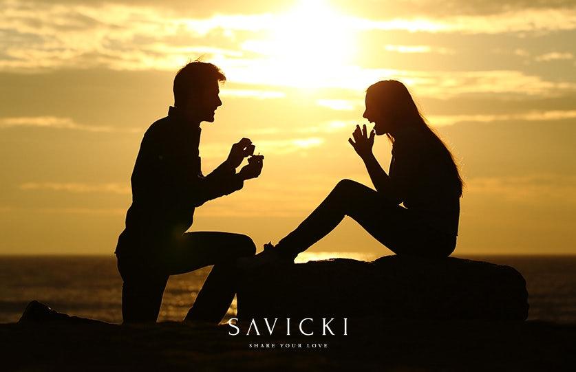 Zaręczyny na wakacjach   Pomysły z pierścionkiem