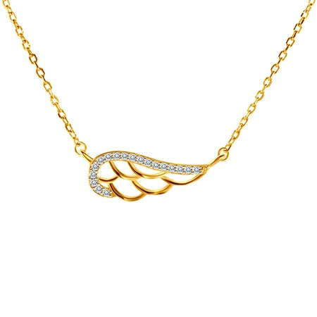 Gold-plated necklaces