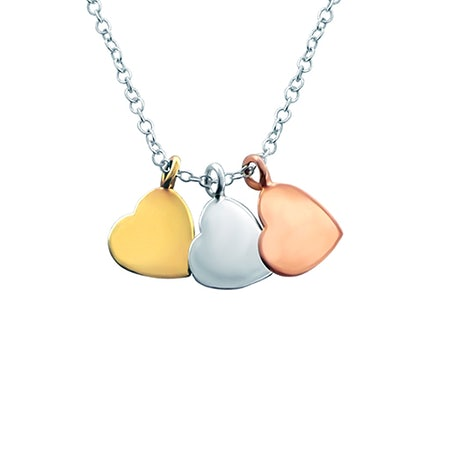 Heart pendant chains
