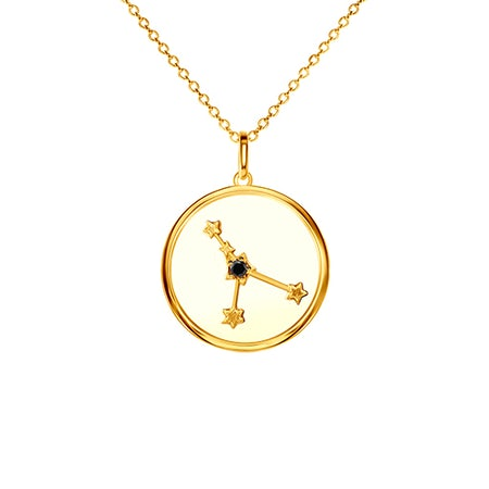 Zodiac sign pendant chains