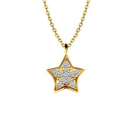 Star pendant chains