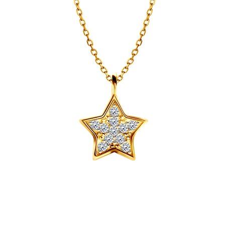 Náhrdelníky s přívěskem hvězdy