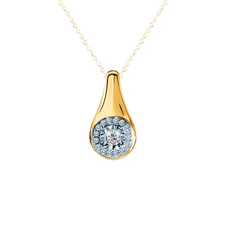 Zawieszki z diamentem