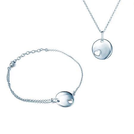 Srebrne komplety biżuterii