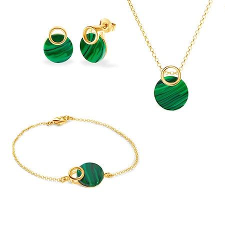 Pozlátené šperkové sady