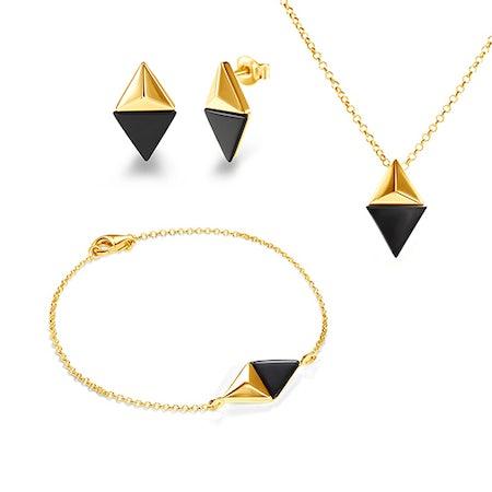 Wieczorowe komplety biżuterii