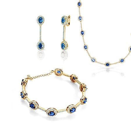 Ślubne komplety biżuterii