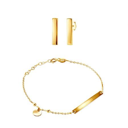 Komplety biżuterii z kolczykami