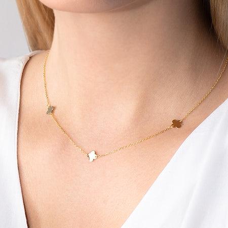 Pendant chain necklaces