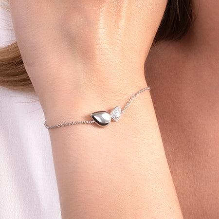 Silver chain pendant necklaces