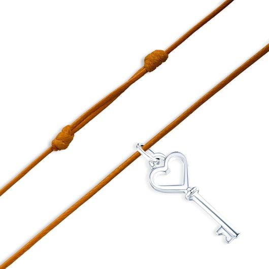Bransoletka The Keys: srebrna