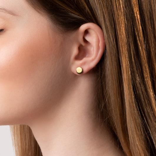 Kolczyki Savicki: srebrne pozłacane