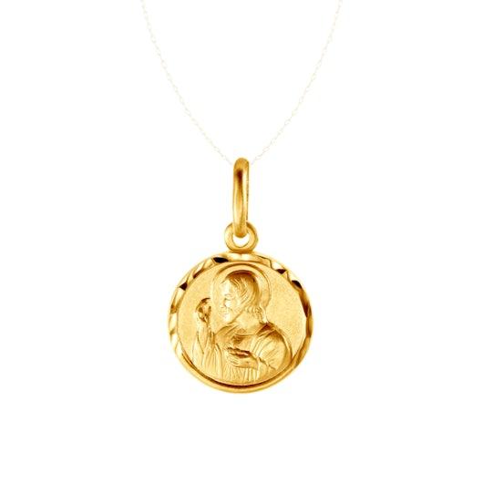 Medalik Savicki: złoty