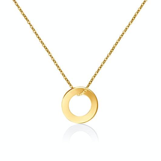 Naszyjnik koło Savicki: złoty
