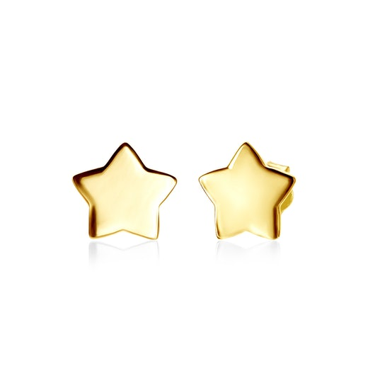 Kolczyki gwiazdki Savicki: srebrne pozłacane