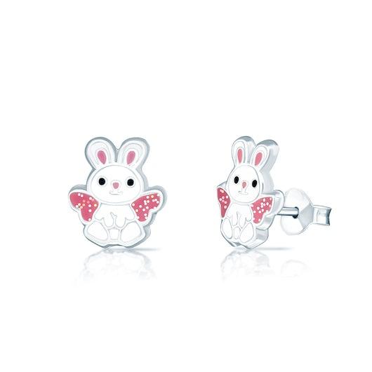 Kolczyki króliki Animals: srebrne