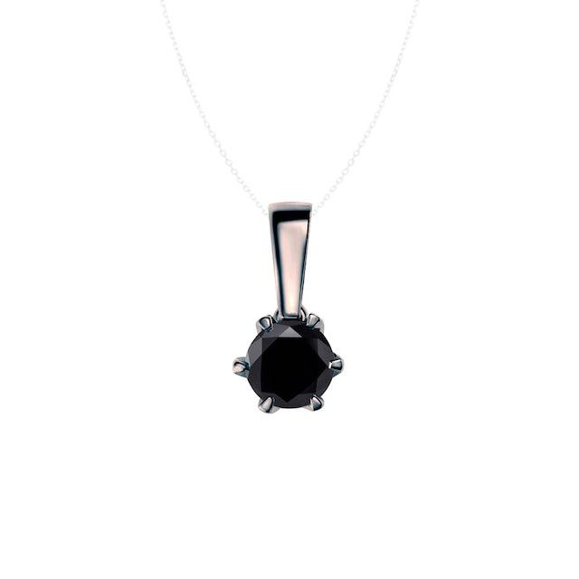 Zawieszka SAVICKI: czarne złoto, czarny diament