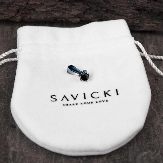 Přívěsek Savicki: černé zlato, černý diamant