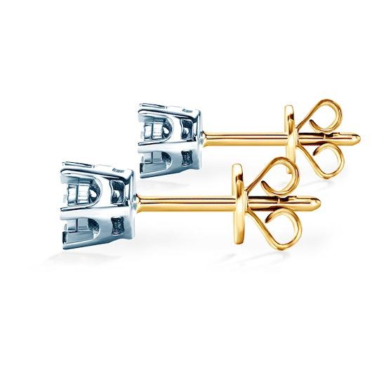 Kolczyki Savicki: złoto, diamenty